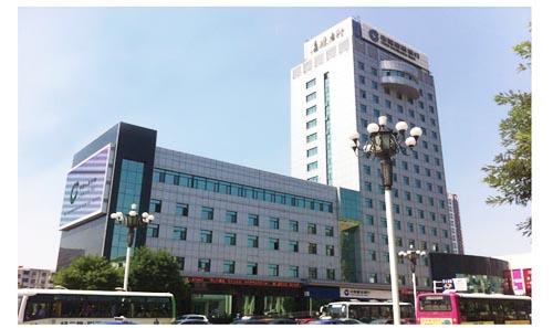 沧州市建行办公楼室外幕墙工程