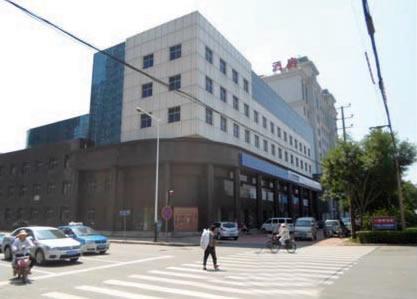 沧州市署西建行办公楼室外幕墙工程