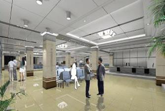 沧州国土局大厅装修工程