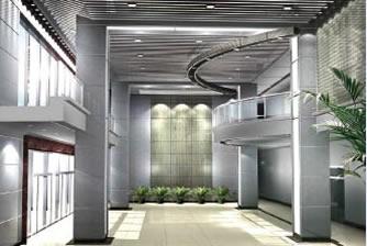 沧州电力局大厅装修工程