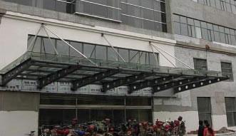 沧州电业局钢结构挑檐工程