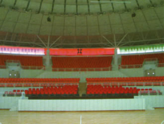 天津市某体育馆音质处理划贝博提现