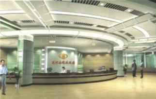运河区地税局征税大厅内装工程