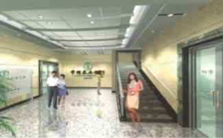 黄骅市农行办公楼内装工程