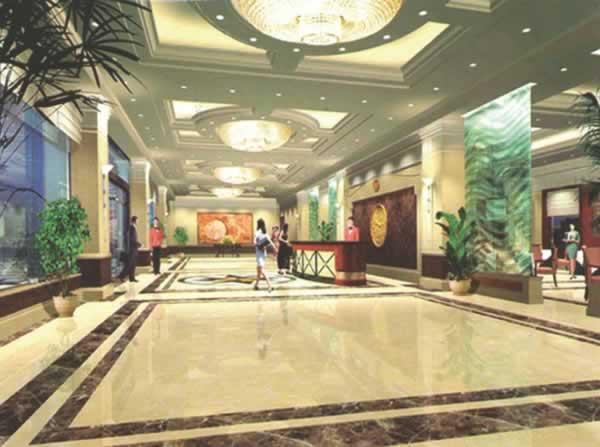 沧州市地税局干部培训中心迎宾大酒店内装工程