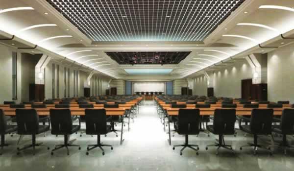保定市人民政府会议室内装工程