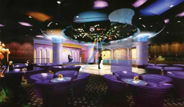 北京市康泰温泉度假村歌舞厅内装工程